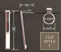 Clip style T